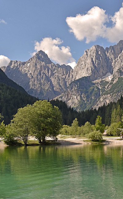Mountains & lakes at Kranjska Gora in Slovenia. Flickr:Harshil Shah