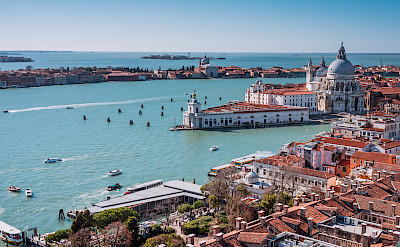 Tower view from San Marco Square in Venice, Italy. Flickr:Sergey Galyonkin