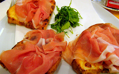 Bruschetta in Venice, Veneto, Italy. Flickr:Anna Fox