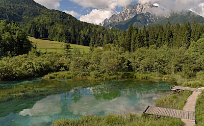 Zelenci Springs at Kranjska Gora in Slovenia. Flickr:Harshil Shah