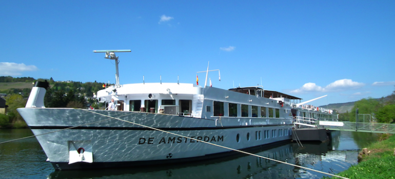 The De Amsterdam, the former Lale Andersen