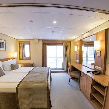 De Amsterdam - Upper deck suite