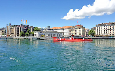 Lake Geneva in Switzerland. Flickr:Dennis Jarvis
