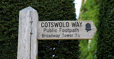 Cotswold Way to Broadway Tower, Worcestershire, England. Photo via Flickr:Kathryn Yengel