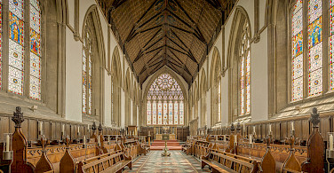 University Of Oxford Merton College Chapel, Oxford, England. Photo via Flickr:Michael D Beckwith