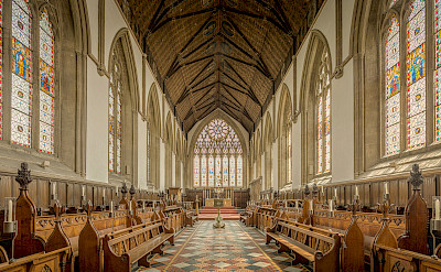 University Of Oxford Merton College Chapel, Oxford, England. Flickr:Michael D Beckwith