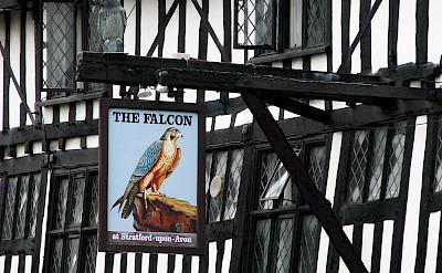 The Falcon in Stratford-upon-Avon, Warwickshire, England. Flickr:Hans Splinter