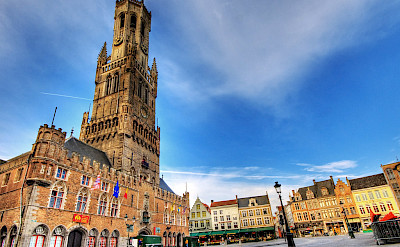 Belfort in Bruges, Belgium. Flickr:Wolfgang Staudt