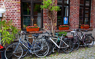 Bike rest in Ghent, Belgium. Flickr:Alain Rouiller