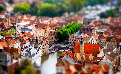 View of Bruges, Belgium. Flickr:Andres Nieto Porras