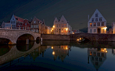 Evening in Bruges, Belgium. ©holland fotograaf