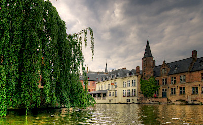 Many canals in Bruges, Belgium. Flickr:Wolfgang Staudt