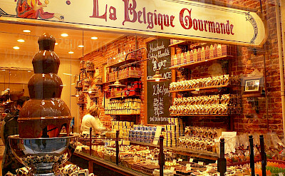 La Belgique Gourmande shop in Belgium. Flickr:Jessica Gardner