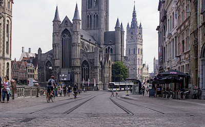 Sint Michielshelling in Ghent, Belgium. Flickr:Ed Webster