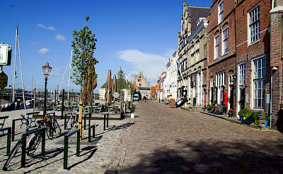 Veere in the region of Walcheren, Zeeland, the Netherlands. Flickr:Rolf Schmitz