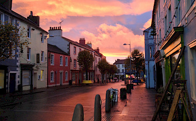 Sunset in Cockermouth, Cumbria in the Lakes District, England. Photo via Flickr:morebyless
