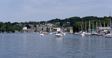 Boats on Lake Windermere by Bowness-on-Windermere, Lakes District, England. Photo by Matt Buck