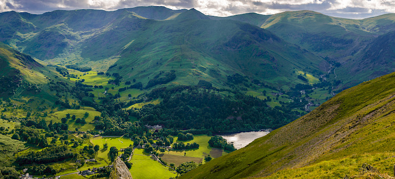 Southern tip of Ullswater, Lakes District, England. Photo via Flickr:Joe Hayhurst