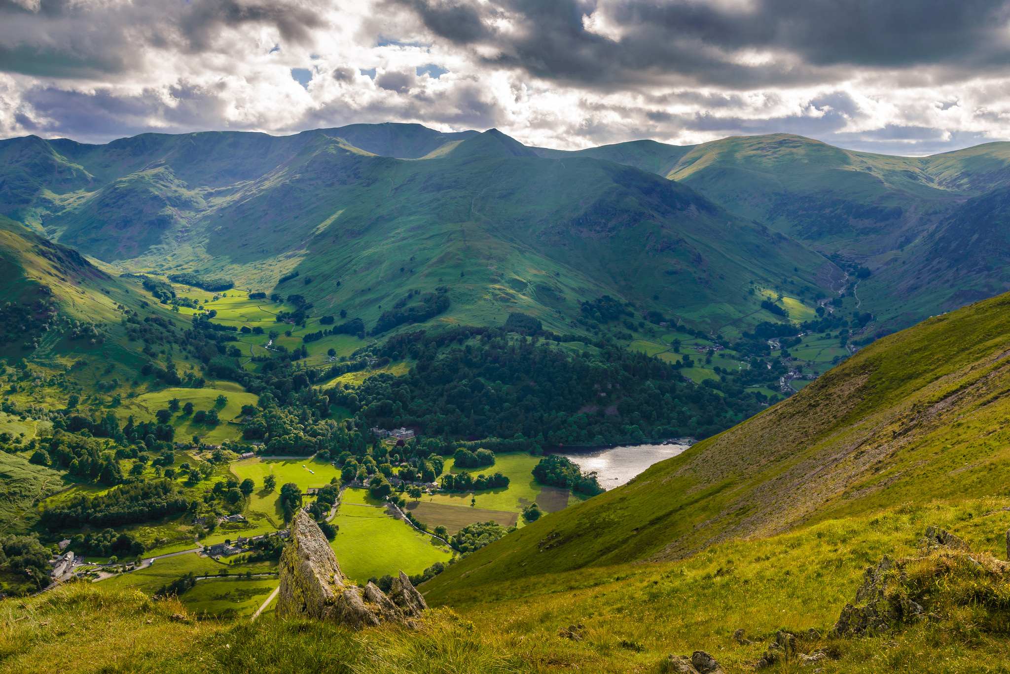 Lake District in England