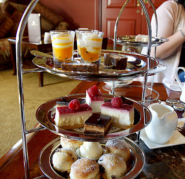 Afternoon tea in the Lakes District, England. Photo via Flickr:Tom Page