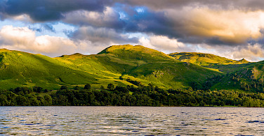 Beautiful Ullswater in the Lakes District, England. Photo via Flickr:Joe Hayhurst
