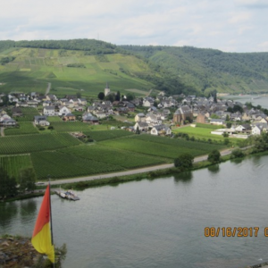 On the beautiful Mosel River