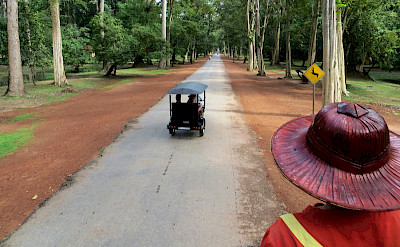Follow the road in Cambodia. Photo via Flickr:Lynda