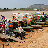 Boat ride near Siem Reap, Cambodia. Photo via Flickr:Dennis Jarvis