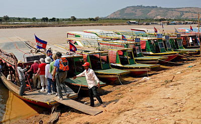 Boat ride near Siem Reap, Cambodia. Photo via Flickr:Dennis Jarvis