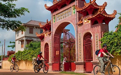 Cycling the beauty that makes up Cambodia and Vietnam. Photo via TO.