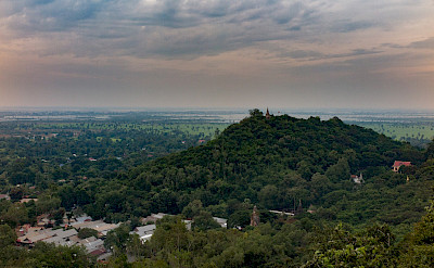 Overlooking Oudong, Cambodia. Photo via Flickr:Stephan A.