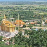 View from the temple in Oudong, Cambodia. Photo via Flickr:Narith5