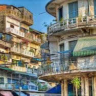 Architecture of Phnom Penh, Cambodia. Photo via Flickr:Fred Bigio