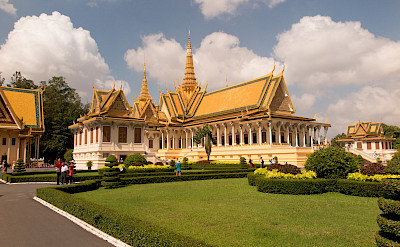 Temple in Phonm Penh, Cambodia. Photo via Flickr:Stephan A.