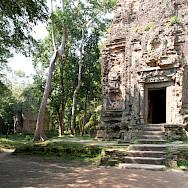 Temple complex at Sambor Prei Kuk, Cambodia. Photo via Flickr:Stephan A.
