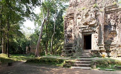 Temple complex at Sambor Prei Kuk, Cambodia. Photo via Flickr:Stephan A.
