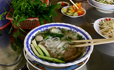 Noodle soup in Vietnam. Photo via Flickr:Jame and Jessica Healy