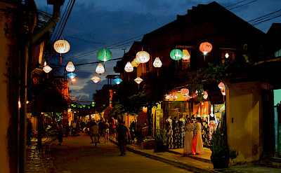 Lanterns aglow in Vietnam. Photo via Flickr:filippog