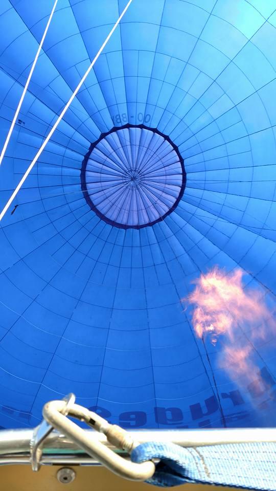 Hot Air Ballon over Bruges!
