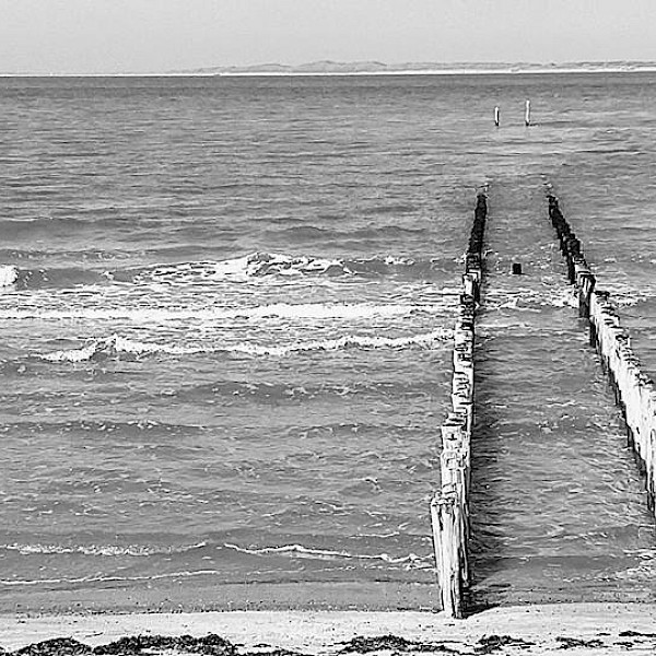 North Sea near Bruges / Knokke-Heist