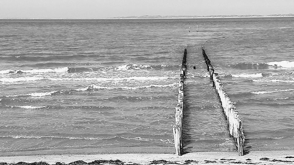 North Sea near Bruges / Knokke-Heist