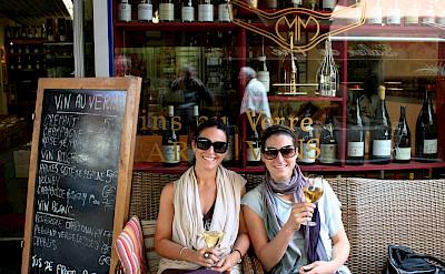 Enjoying the wine in Beaune, Burgundy, France. Flickr:Megan Mallen