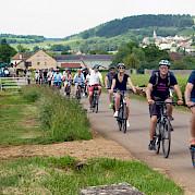 Burgundy guided bike tour Photo