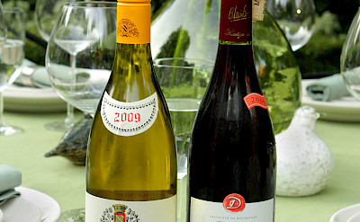 Bourgogne is famous for both its red and white wines. Flickr:Didriks