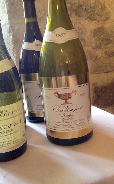 Clos de Vougeot to try in Vougeot, department Côte-d'Or, Burgundy, France. Flickr:Jameson Fink