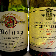 Gevrey-Chambertin wine from the same region in Burgundy, France. Flickr:dpotera