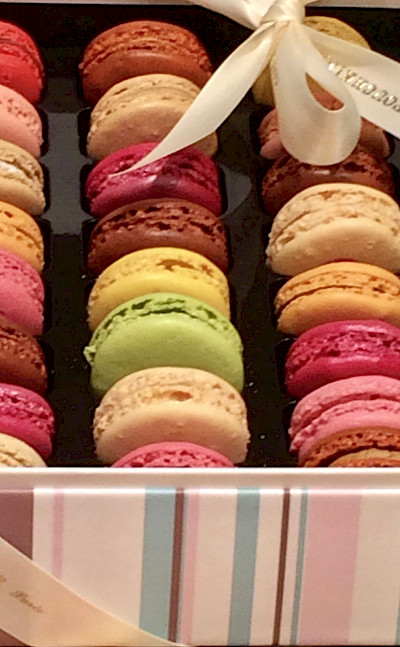 Macarons at the Patisserie in France! Flickr:P'Tille