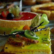 Desserts at the Patisserie to fuel the bike rides. Flickr:Louis Zimmermann