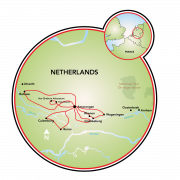 Holland - Past & Present Map