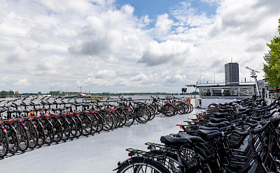 Bikes on the De Nassau | Bike & Boat Tours